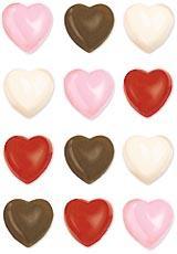 Wilton chokladform - hjärta