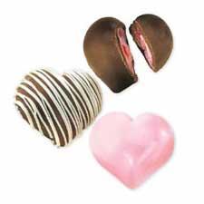 Wiltons chokladform - stora hjärtan