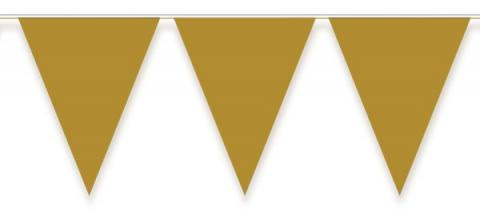 Vimplar, guld 10m