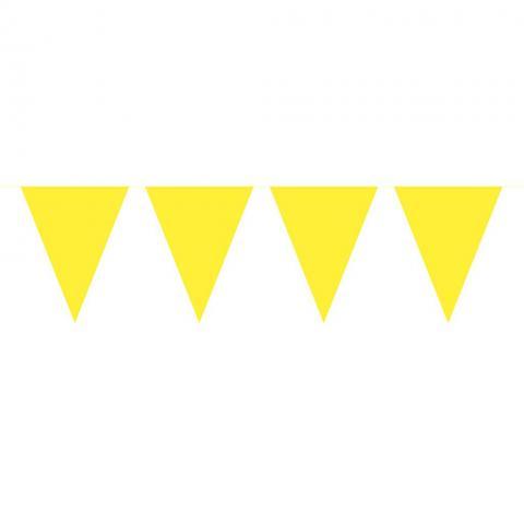 Flaggvimpel, gul 10m