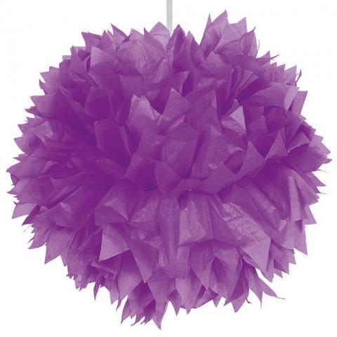 Pompom, lila 30cm