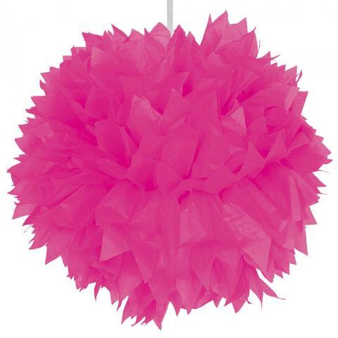 Pompom, rosa 30cm