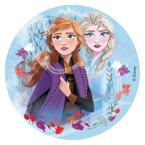 Sockerpastatårtbild, Frozen II