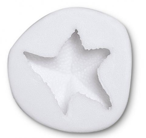 Silikonform, sjöstjärna