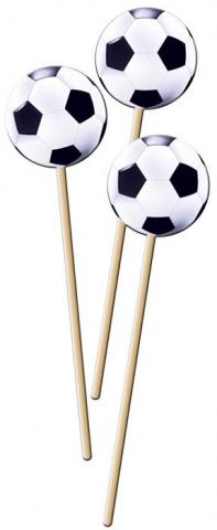 Cocktailpinnar, fotboll
