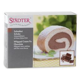 Moussepulver, choklad