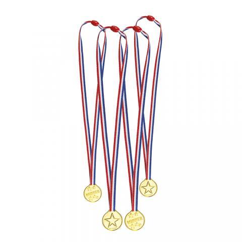 Medaljer, 4st