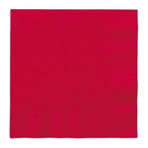 Stora servetter, röd