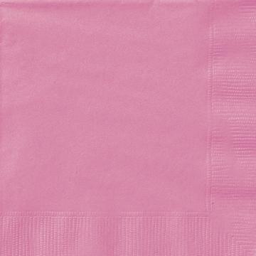 Små servetter, rosa