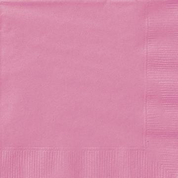 servetter, rosa