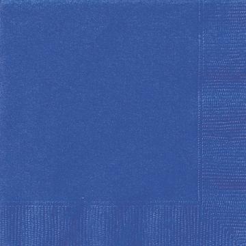 Små servetter, blå