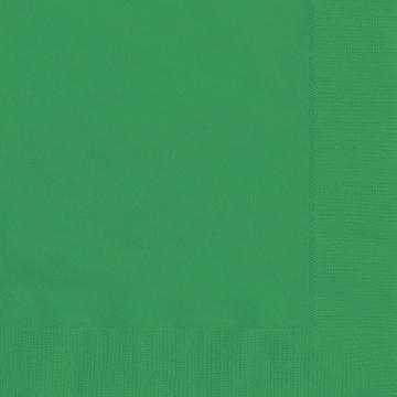 Stora servetter, klar grön