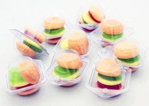 Mini-hamburgare 1st