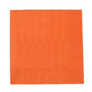 Stora servetter, orange