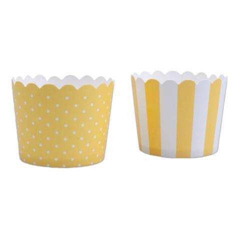 Minimuffinsform-kopp, gul