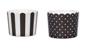 Minimuffinsform-kopp, svart