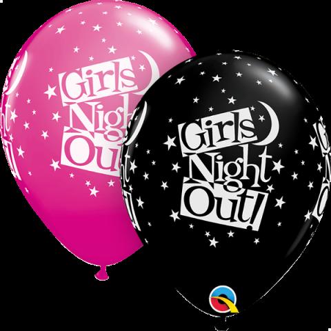 Gummiballong 25st, Girls night out