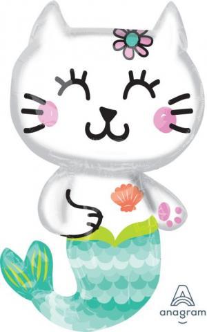 Figurfolieballong, Mermaid Cat