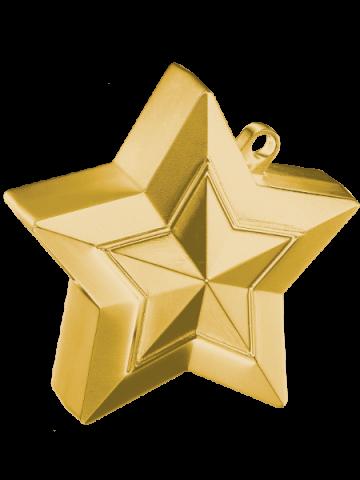 Ballongtyngd, stjärna 150g guld
