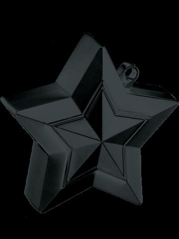 Ballongtyngd, stjärna 150g svart
