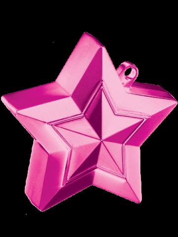 Ballongtyngd, stjärna 150g rosa