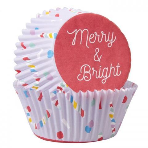 Wilton muffinsformar, Merry & Bright