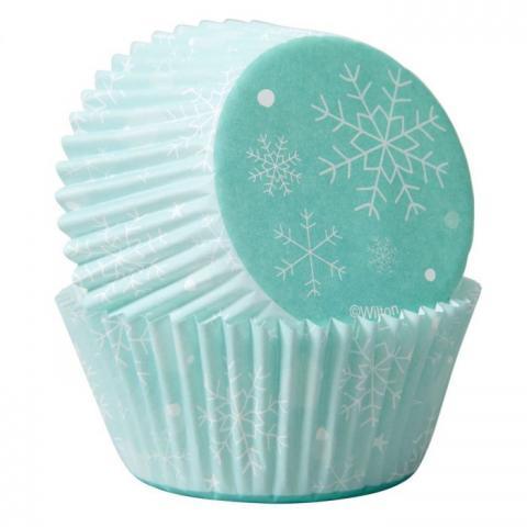 Wilton muffinsformar, snöflinga