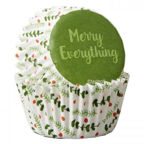 Wilton mini-muffinsformar, Merry everything