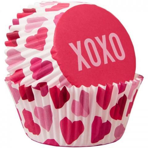Wilton muffinsformar, XOXO