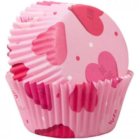Wilton muffinsformar, Hearts