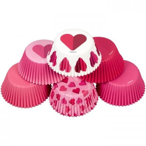 Wilton muffinsformar i tub, Be Mine