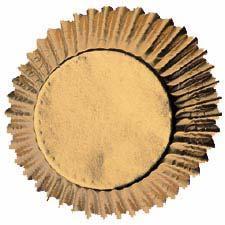 Wilton muffinsform, guld