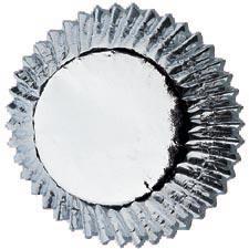 Wilton muffinsform, silver
