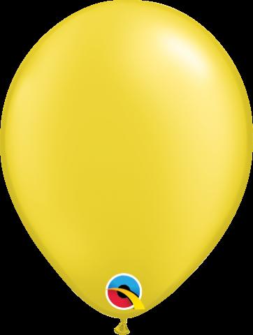 """Gummiballonger 100st, pearl citrine 5"""""""