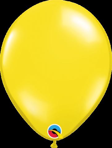 """Gummiballonger 100st, citrine yellow 11"""""""
