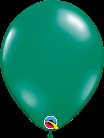 """Gummiballonger 100st, emerald green 11"""""""