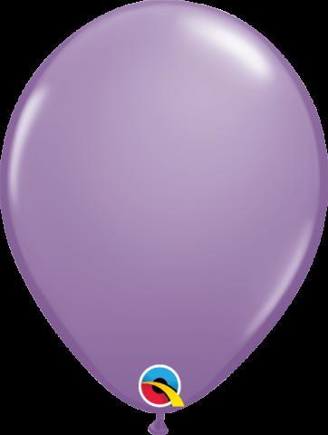 """Gummiballonger 100st, spring lilac 11"""""""