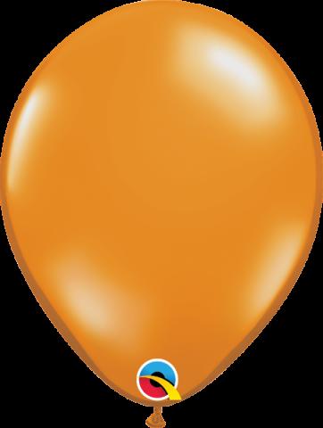 """Gummiballonger 100st, mandarin orange 11"""""""