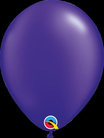 "Gummiballonger 100st, pearl quartz purple 11"""
