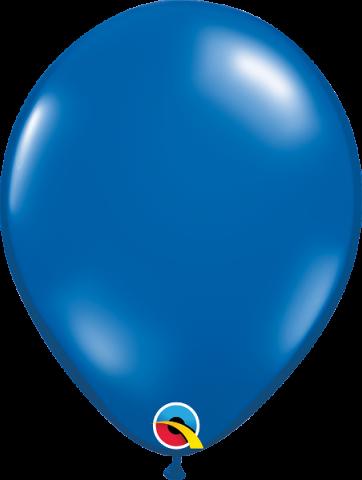 """Gummiballonger 100st, sapphire blue 11"""""""