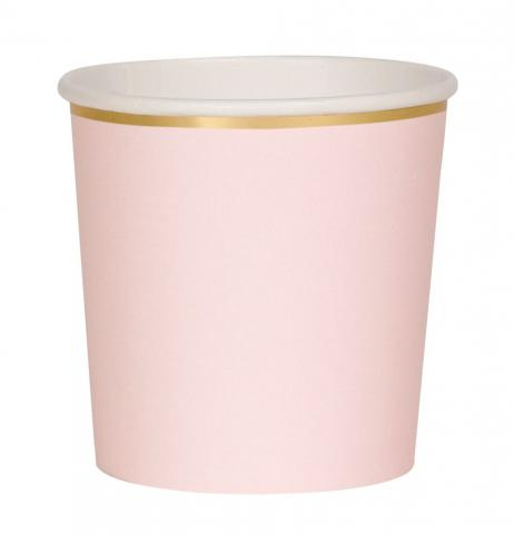 Octagonal dusty  pink muggar, Meri Meri
