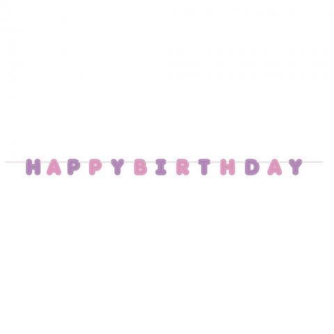 Vimpelband, Happy Birthday pastell