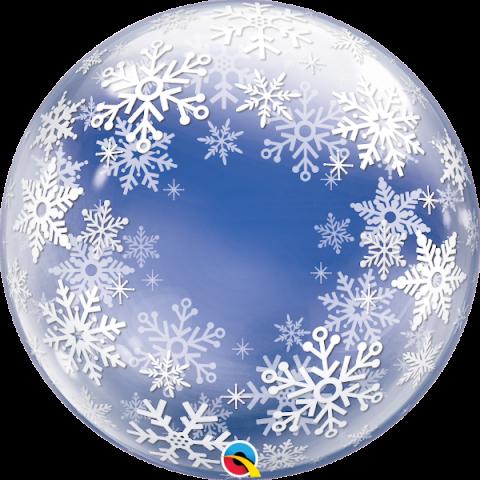 Bubbleballong, Frosty snowflakes