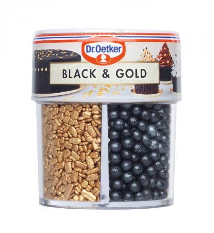 Dr Oetker strössel, Black & Gold (4 olika strössel
