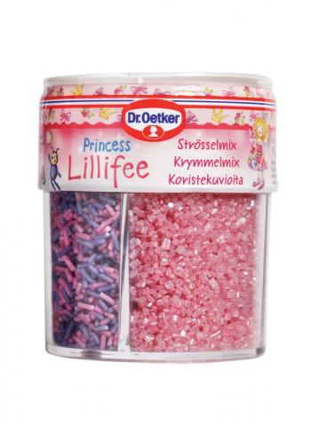 Dr Oetker strössel, Princess Lillifee (4 olika