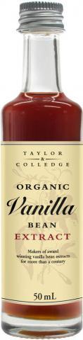 Organic Vanilla Bean vaniljextrakt