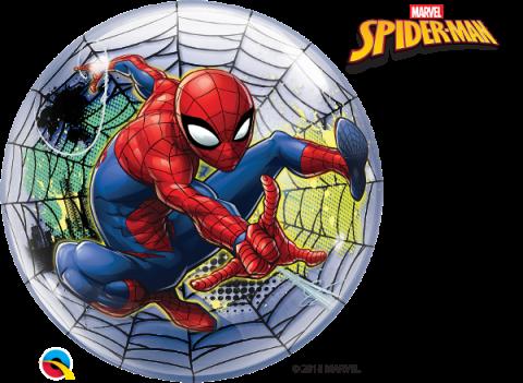Bubbleballong, Spiderman