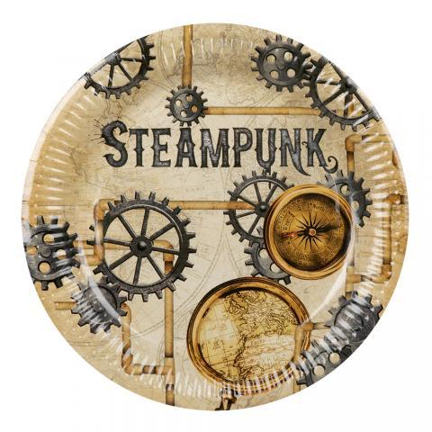 Steampunk stora tallrikar