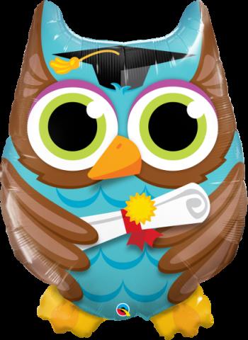 Figurfolieballong, Graduate Owl