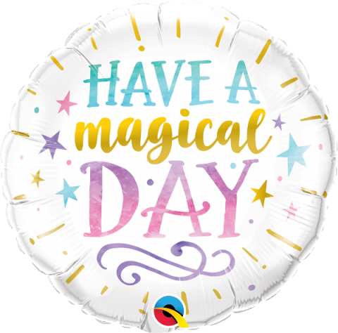 Folieballong, Have a magical day